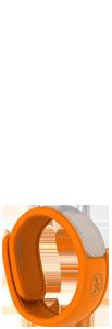 Parakito bracelet orange répulsif naturel 2 pastilles